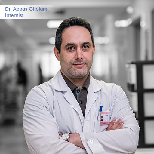 Dr Abbas Gholami-Internist
