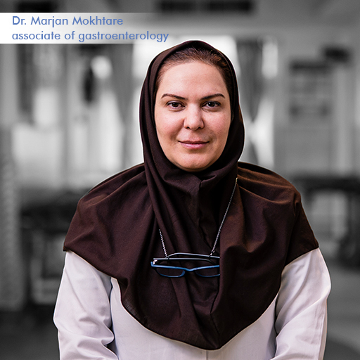 Dr Marjan Mokhtare-Associate of Gastroenterology