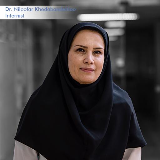 Dr Niloofar Khodabandehloo-Internist
