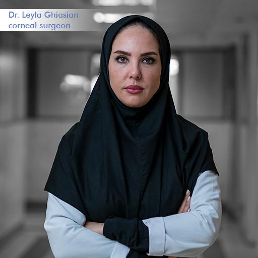 Dr. leyla ghiasian-corneal surgeon